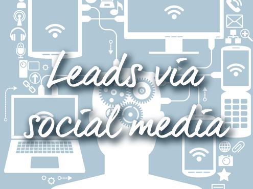 Leads-via-social-media