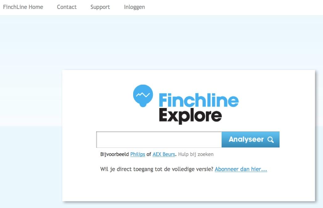 finchline explore