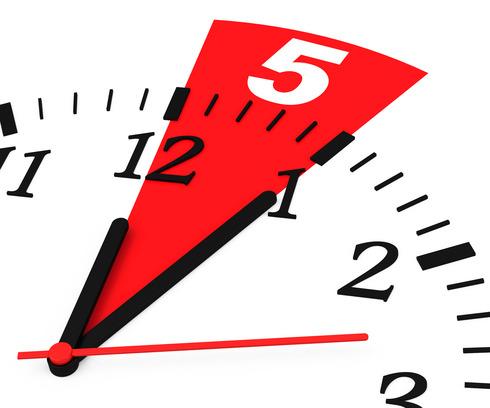 5 minuten 5 seconden regel linkedin for Cocinar en 5 min